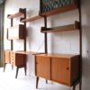 Large 1960s Teak Shelving Unit by Ergo Norway 5