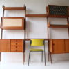 Large 1960s Teak Shelving Unit by Ergo Norway 8
