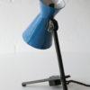 Rare 1950s Blue Desk Lamp 1