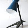 Rare 1950s Blue Desk Lamp
