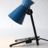 Rare 1950s Blue Desk Lamp 2
