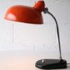 Vintage 1950s Orange Desk Lamp