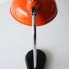 Vintage 1950s Orange Desk Lamp 3