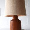Vintage Teak Table Lamp 2