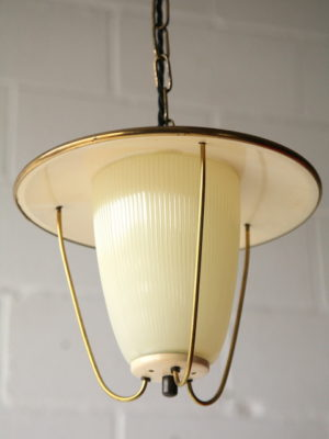 1950s Lantern Ceiling Light 1