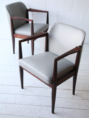 1960s Rosewood Chairs