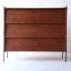 1960s Teak Shoe Cabinet