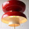 1970s Red Space Age Floor Lamp 1