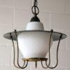 Black 1950s Lantern Ceiling Light 1