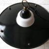 Black 1950s Lantern Ceiling Light 2