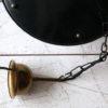 Black 1950s Lantern Ceiling Light 3