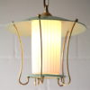 Green 1950s Lantern Ceiling Light