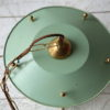 Green 1950s Lantern Ceiling Light 3