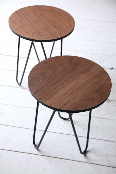 U0027Hairpinu0027 Side Table By Modern Wire