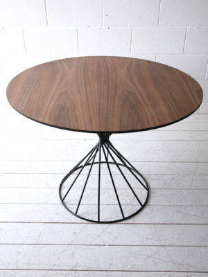 Modern Wire Twist Dining Table
