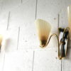 Pair of 1950s Glass Wall Lights 4