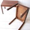 Pair of Rosewood Coffee Tables by Bruksbo Norway 3