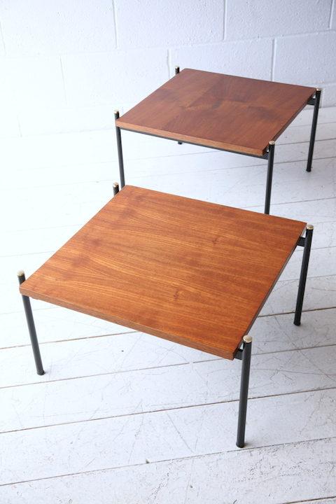 Rare 1950s Italian Tables by Pizzetti Italy