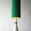 Vintage 1960s Table Lamp with Green Shade