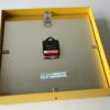 Vintage Yellow Pragotron Wall Clock 2