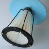1950s Brass Glass Ceiling Light 1
