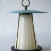 1950s Brass Glass Ceiling Light