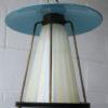 1950s Brass Glass Ceiling Light 5