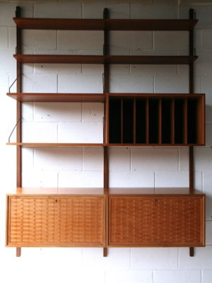 1960s Teak Shelving System by Poul Cadovius 2