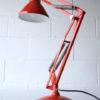 1970s Swedish Orange Anglepoise Lamp 1