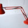 1970s Swedish Orange Anglepoise Lamp 2