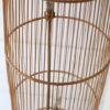 Large Vintage Wicker Floor Lamp 2