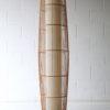 Large Vintage Wicker Floor Lamp 4