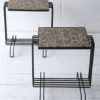 Pair of 1950s French Tiled Tables