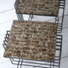 Pair of 1950s French Tiled Tables 4