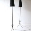 Pair of French 1950s Floor Lamps 2