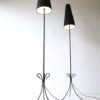 Pair of French 1950s Floor Lamps 5
