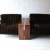 Pair of Rosewood 'Artona' Chairs by Afra & Tobias Scarpa