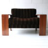Pair of Rosewood 'Artona' Chairs by Afra & Tobias Scarpa 3