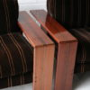 Pair of Rosewood 'Artona' Chairs by Afra & Tobias Scarpa 4