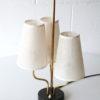 Rare 1950s Triple Table Lamp 4