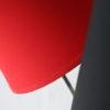 Vintage 1950s Red and Black Floor Lamp 1