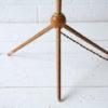 Vintage 1960s Wooden Tripod Floor Lamp 3