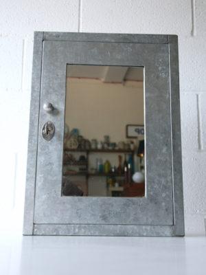 Vintage Galvanised Cabinet