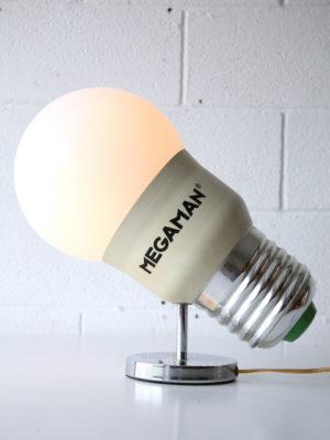 Vintage Megaman Advertising Lamp 4