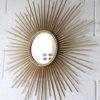 Vintage Sunburst Mirror by Chaty Vallauris 1