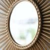 Vintage Sunburst Mirror by Chaty Vallauris 4