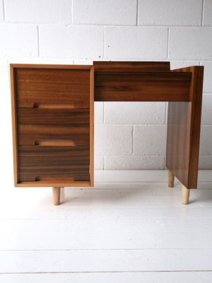 1950s C Range Walnut Dressing Table by Stag