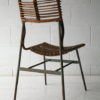 1950s Cane Steel Chair 1
