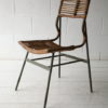 1950s Cane Steel Chair 2