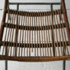 1950s Cane Steel Chair 3